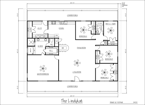 Middle America Steel Floor Plans – Steel Building House Floor Plans
